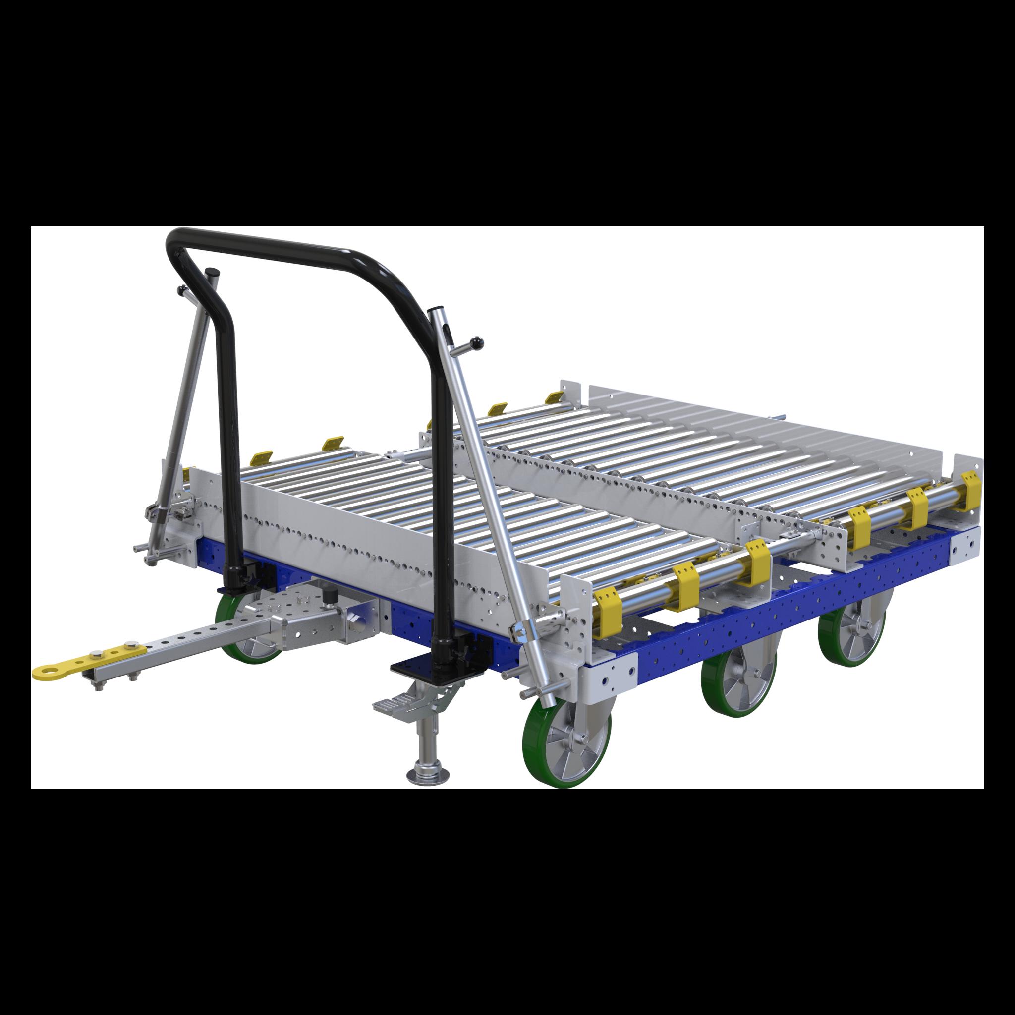 Conveyor Push / Tugger Cart - 1260 x 1260 mm