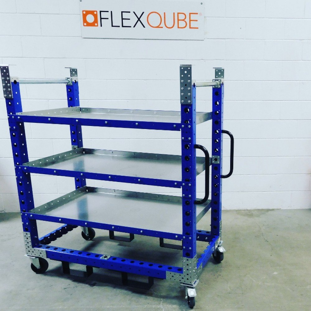 3 in 1 mother daughter cart by FlexQube