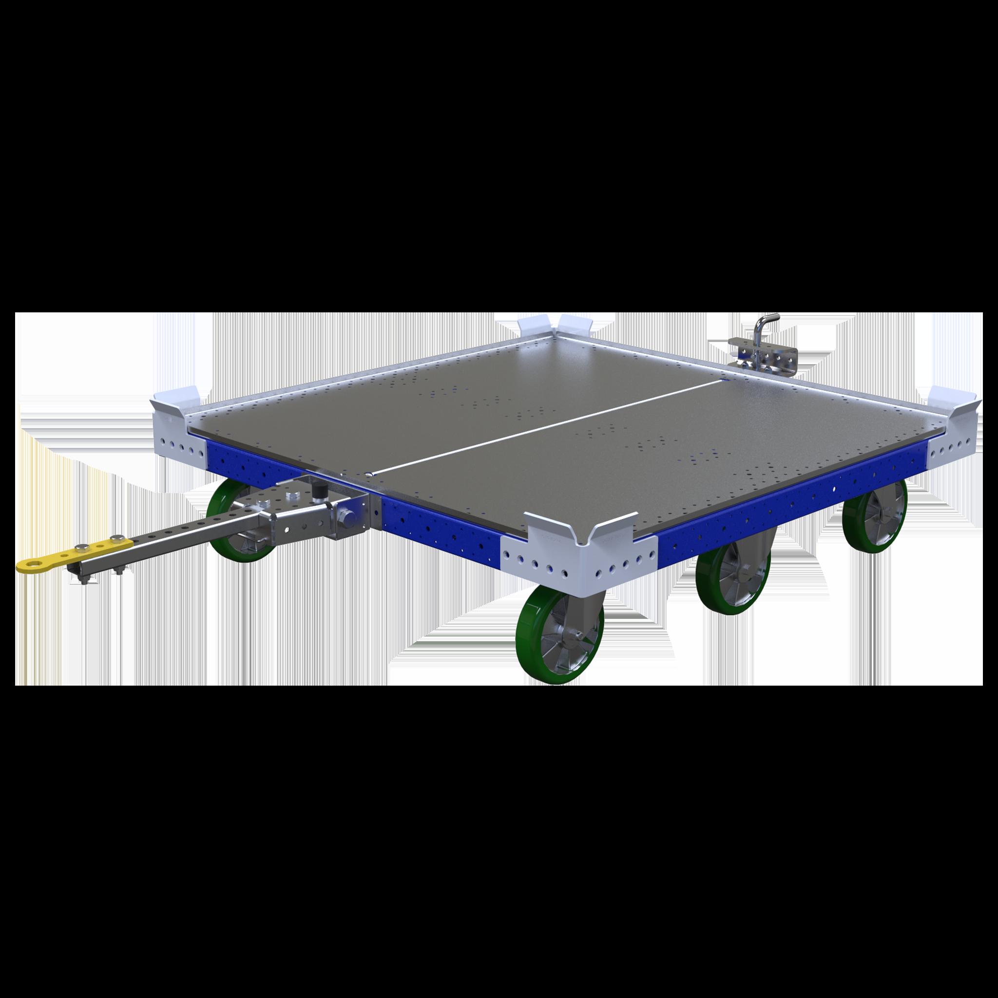 Carro remolcador de plataforma plana - 1260 x 1260 mm