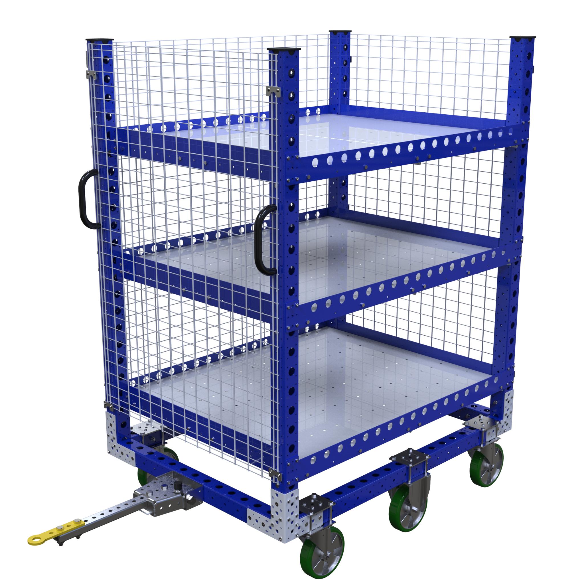 Shelf Tugger Cart - 1400 x 1050 mm