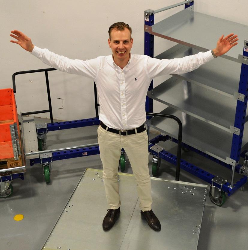 FlexQube CEO Anders Fogelberg