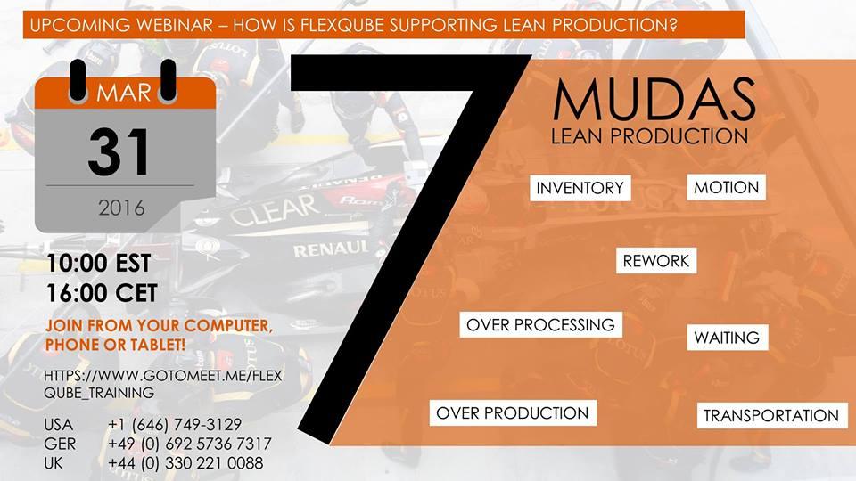 Lean production Webinar