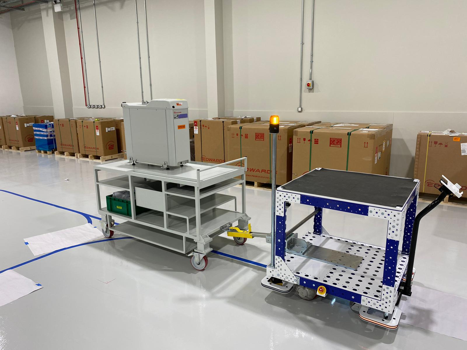 Logistics 4.0 and the Mobile Industrial Robot