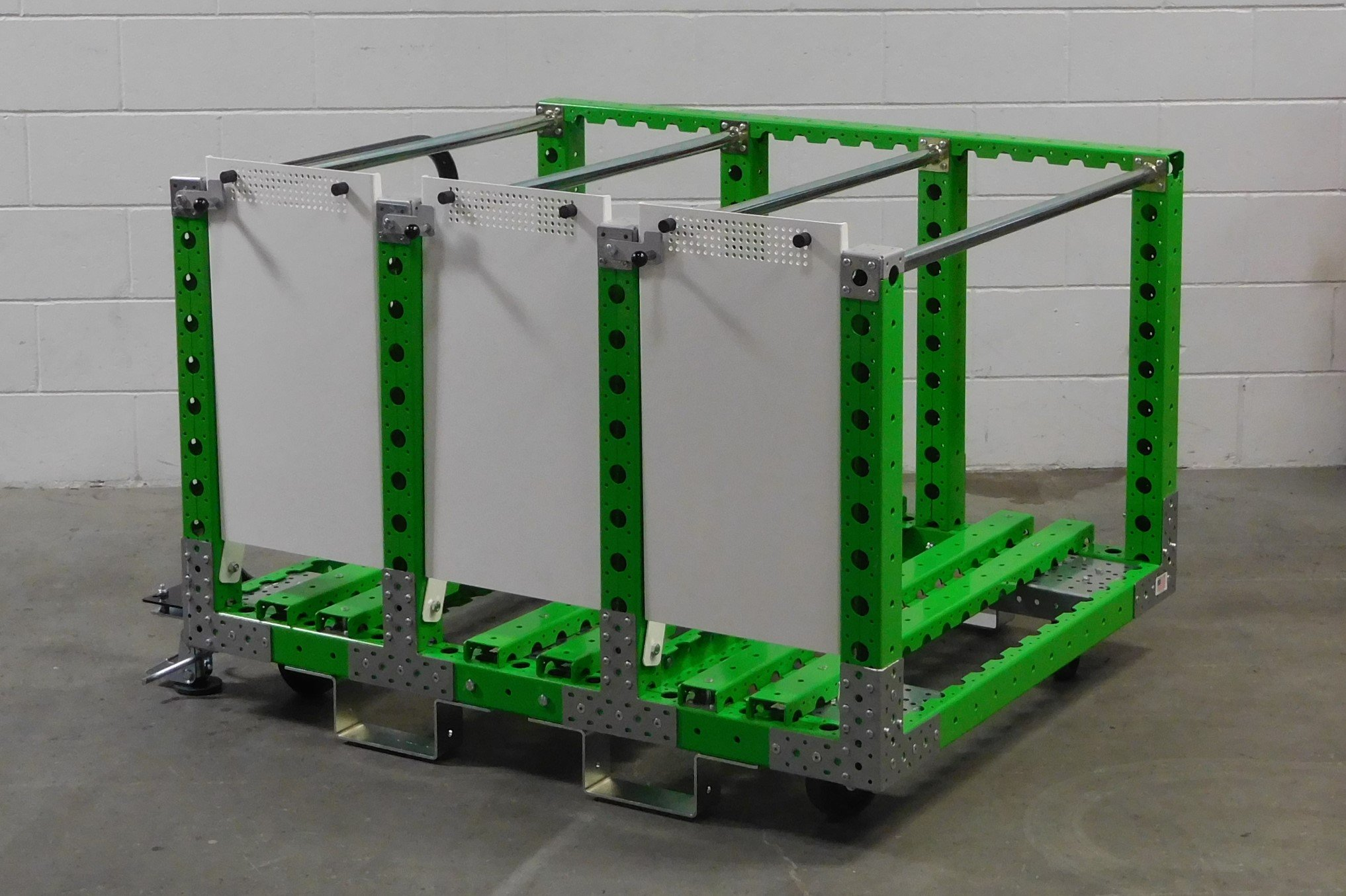 Proterra tyre kit cart by FlexQube
