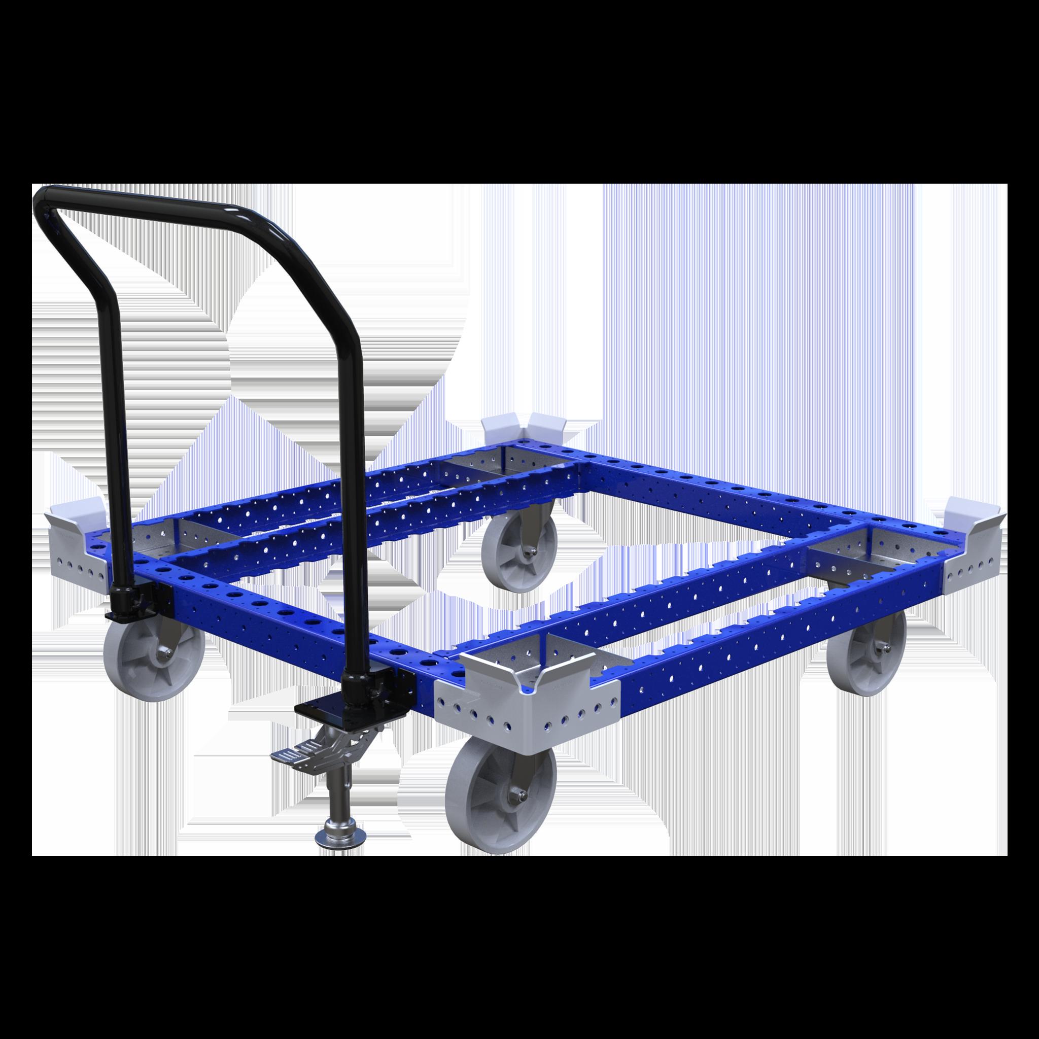 Carro de empuje para tarimas - 1260 x 1260 mm