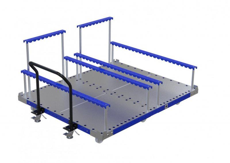 FlexQube Material Handling cart for automotive seats