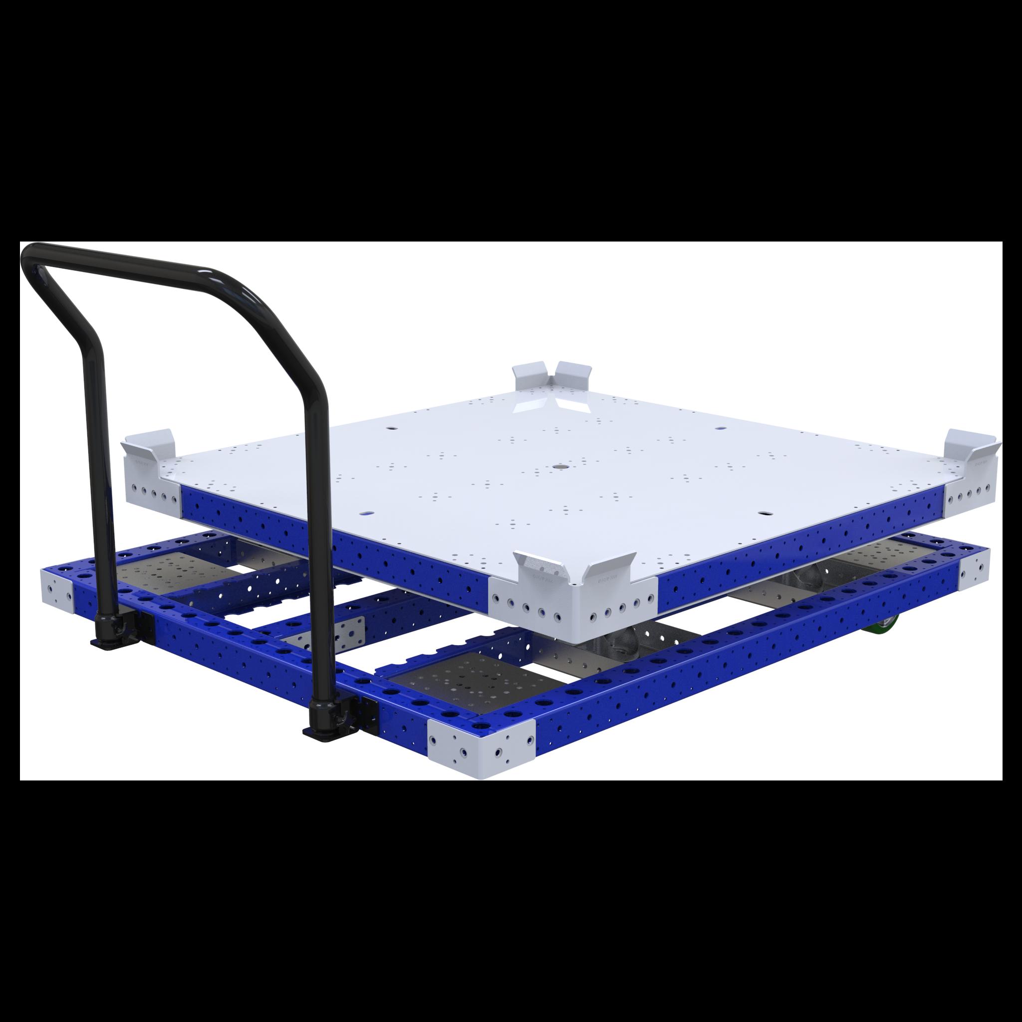 Rotating Pallet Push Cart - 1260 x 1260 mm