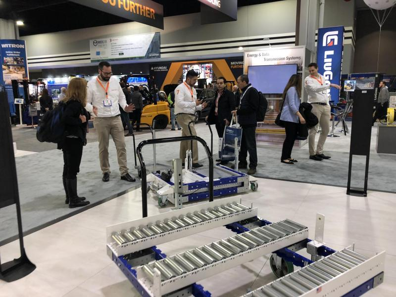 FlexQube at MODEX 2018