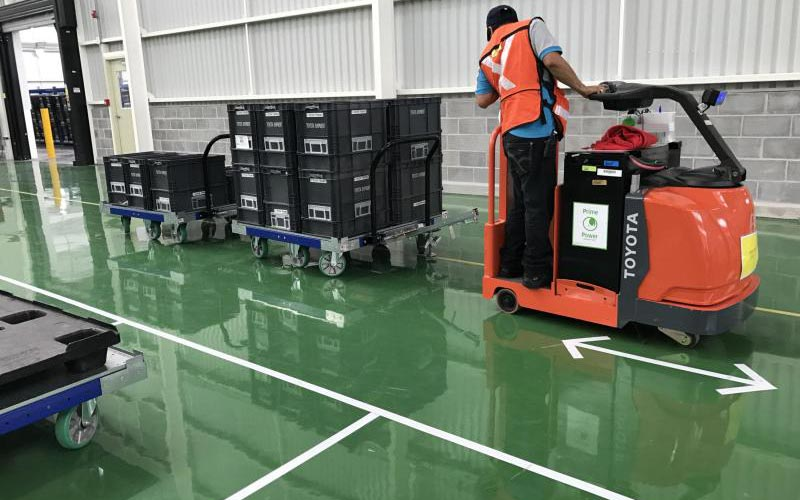 Unit load - a part of the material handling process