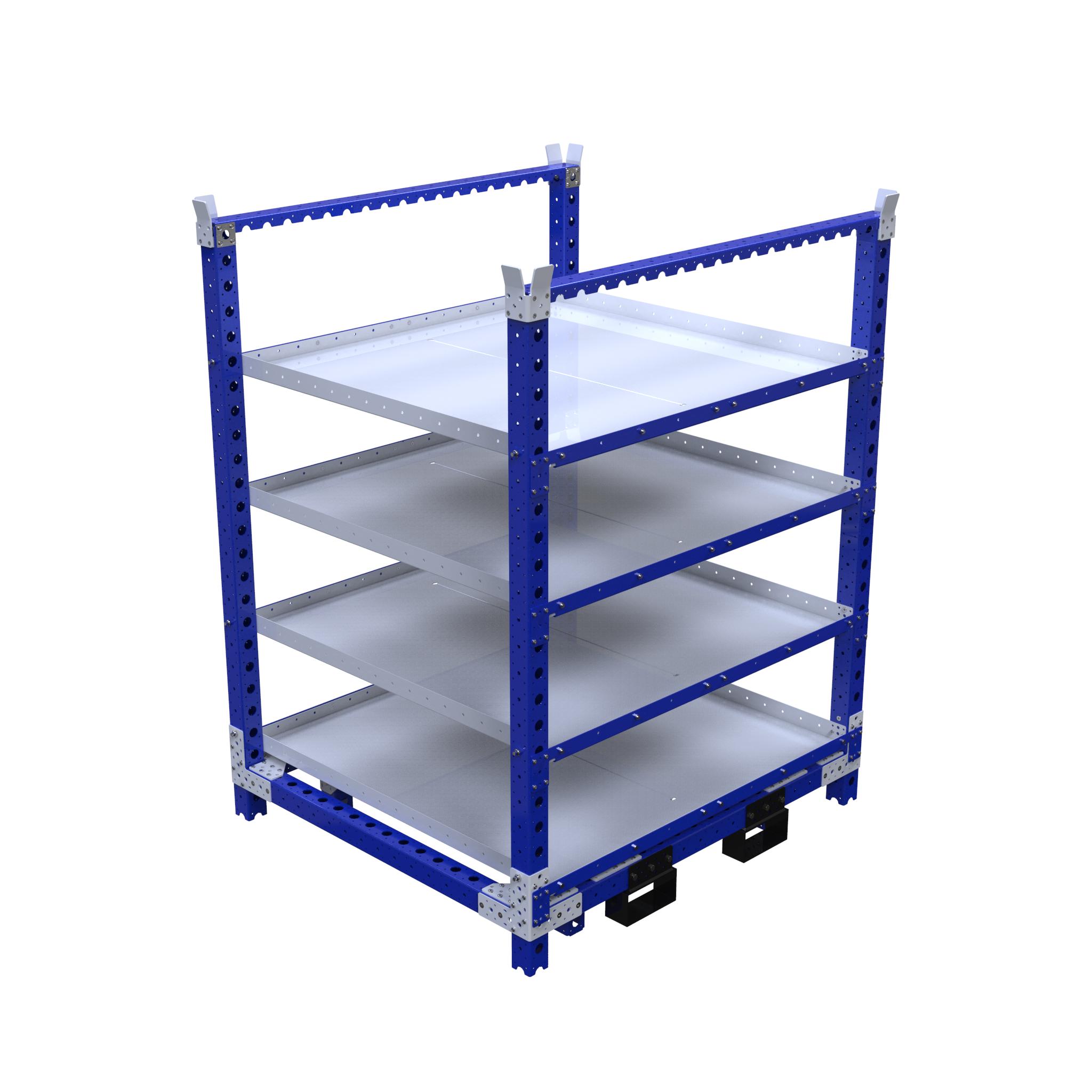 Shelf Rack for holding heavier materials