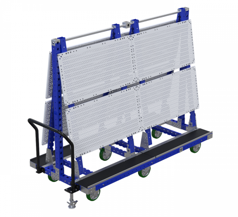 Windshield cart for the automotive industry by FlexQube