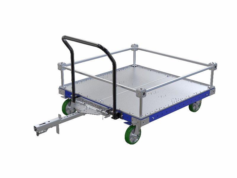 FlexQube Material Handling cylinder block cart