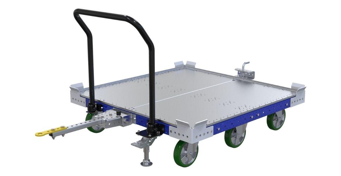 flat deck tugger cart material handling methods top 5