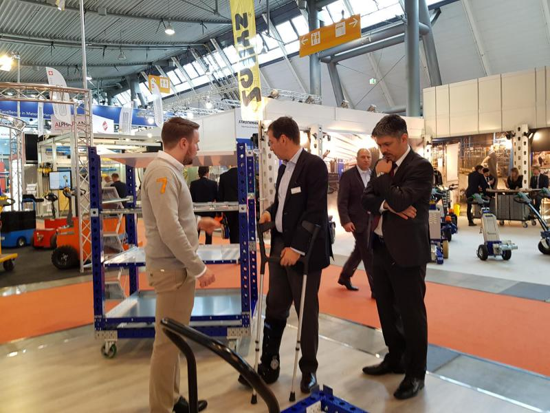 FlexQube at LogiMAt 2018