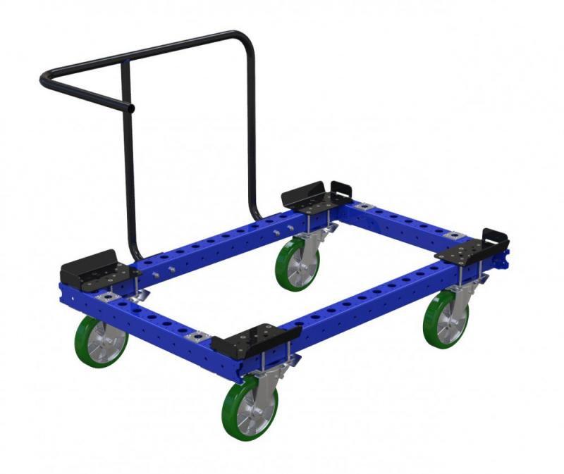 Modular material handling pallet trolley by FlexQube