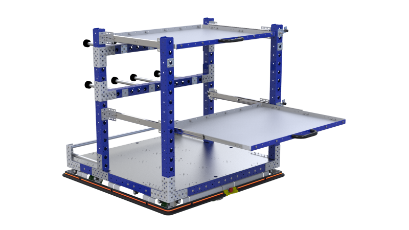 FlexQube eQart design for ProMAT