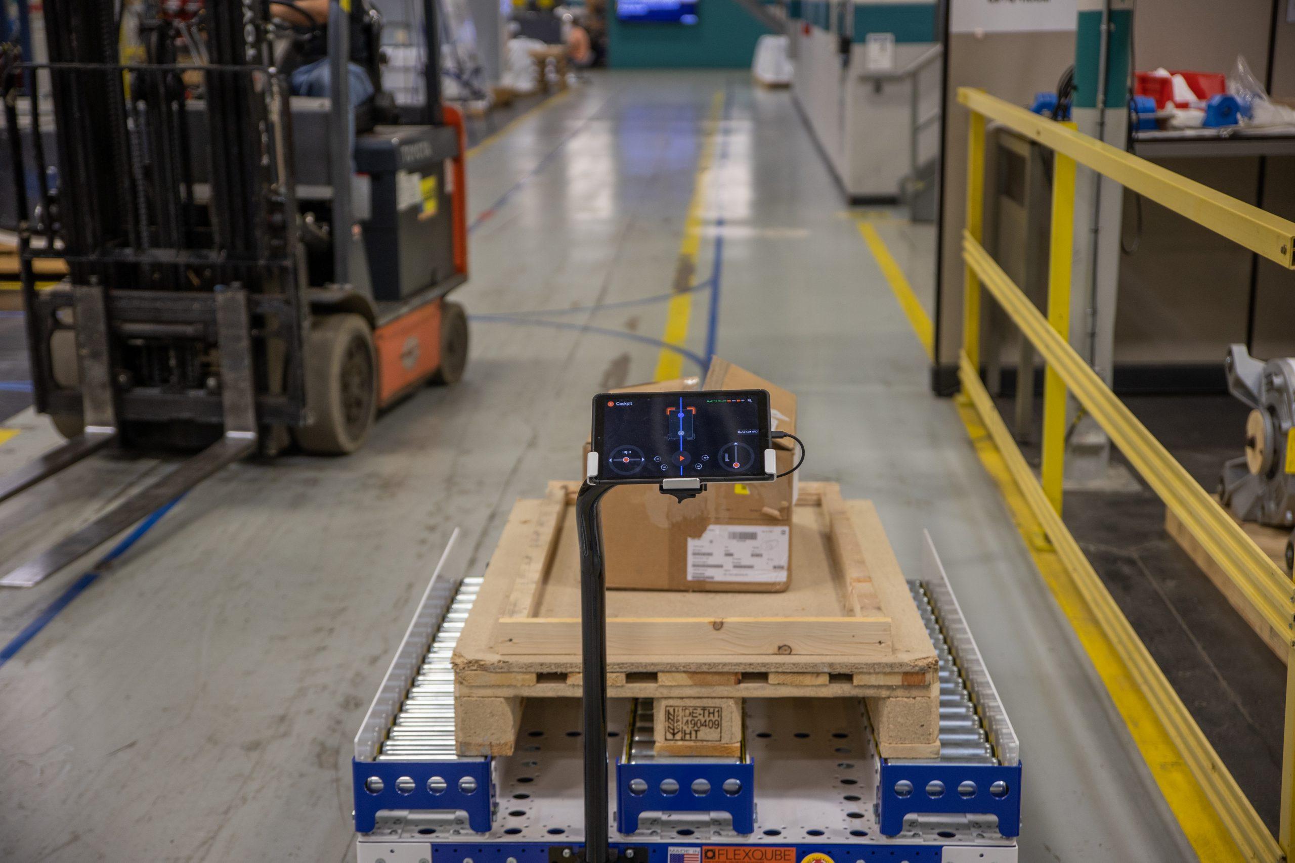 Optimizing Warehousing Logistics with Autonomous Mobile Robots