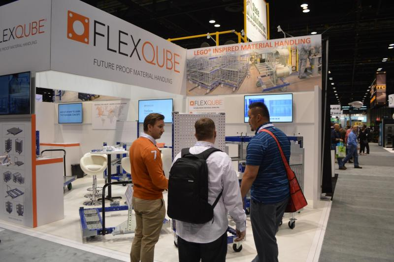FlexQube at ProMAT 2017