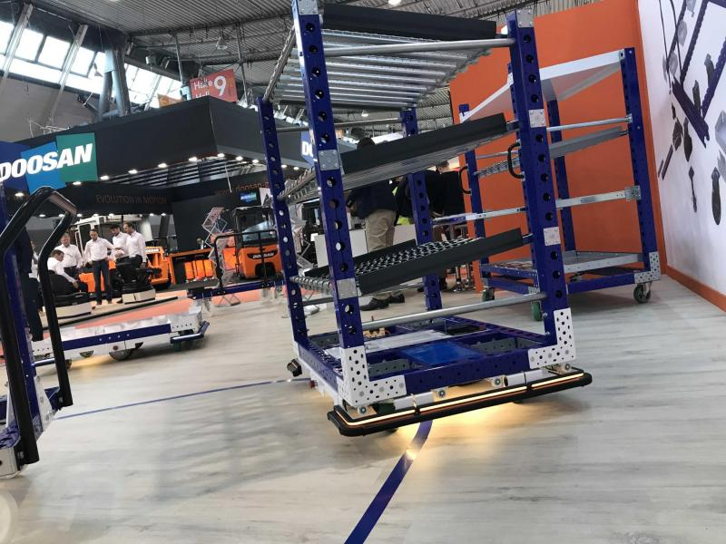 FlexQube eQart at LogiMAT 2019