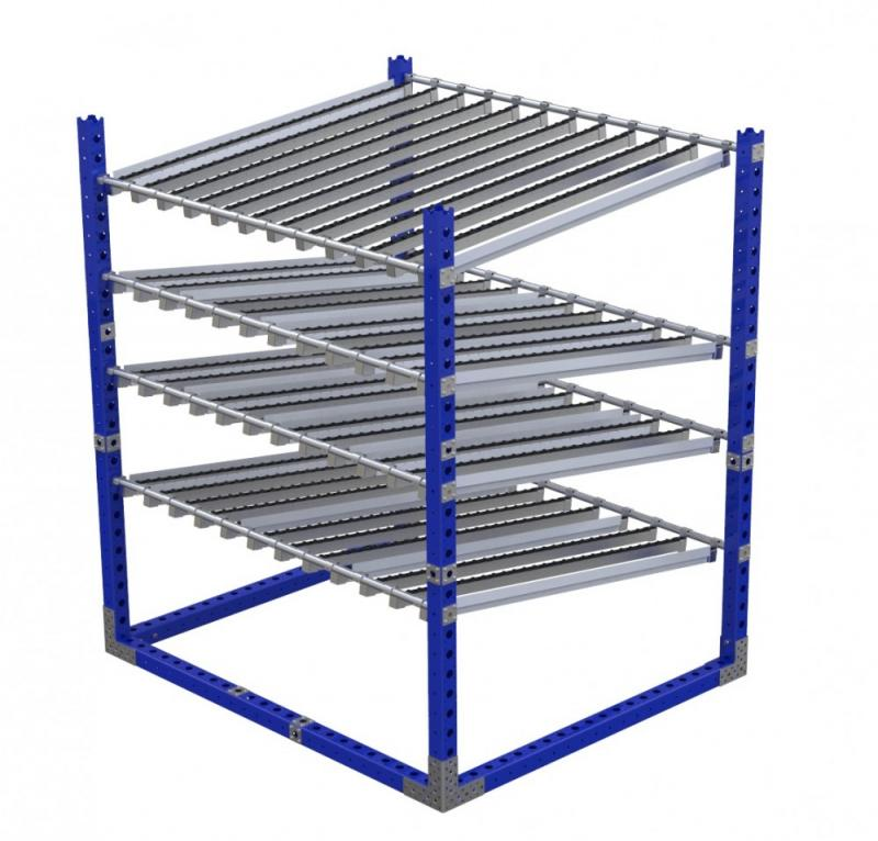 FlexQube Material Handling flow rack