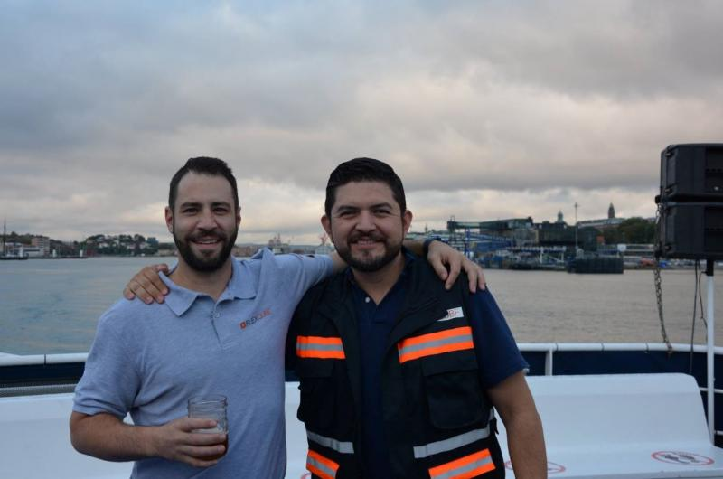 Andy Legut and Hector Flores North America Sales team FlexQube
