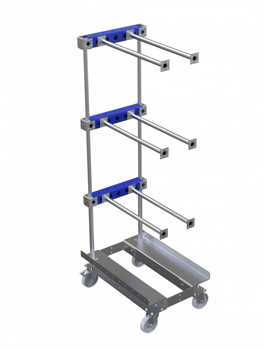 Custom FlexQube hanging cart