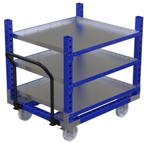 Flat Shelf Cart - 1260 x 1050 mm