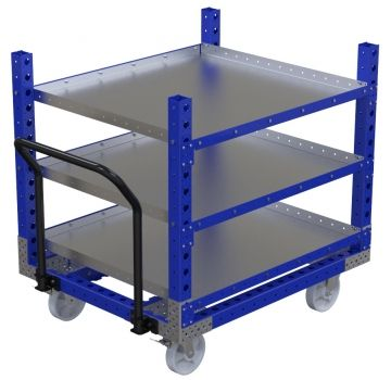 Flat Shelf Cart - 1260 x 1050 mm