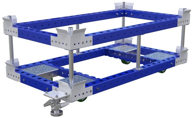 Pallet Cart w. Sub-Frame - 1400 x 770 mm