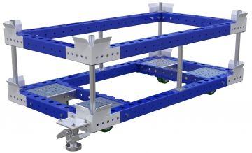 Pallet Cart w. Sub-Frame - 1400 x 770 mm