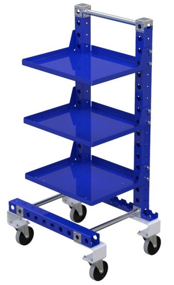 Removable shelf cart - 700 x 560 mm