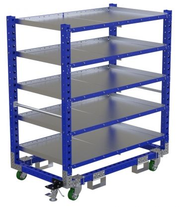 Flat Shelf Cart - 1610 x 910 mm