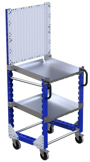 Modular & industrial material handling tool cart by FlexQube