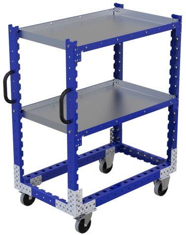 Flat Shelf Cart - 1050 x 630 mm
