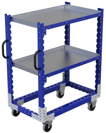 Flat Shelf Cart - 1050 x 630 mm