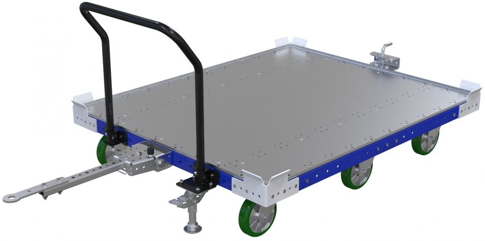 Flat Deck Cart - 1330 x 1610 mm