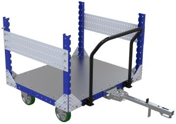 Metal frame cart - 1190 x 980 mm