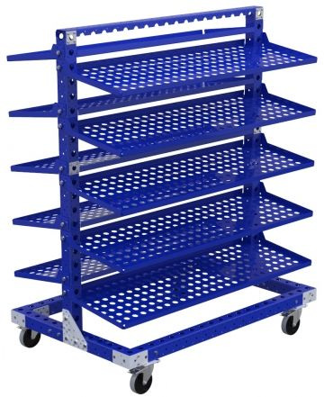 Flow Shelf Cart – 910 x 1400 mm