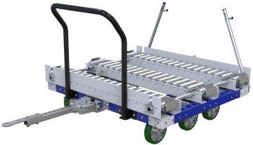 Modular & industrial material handling pallet transfer cart by FlexQube