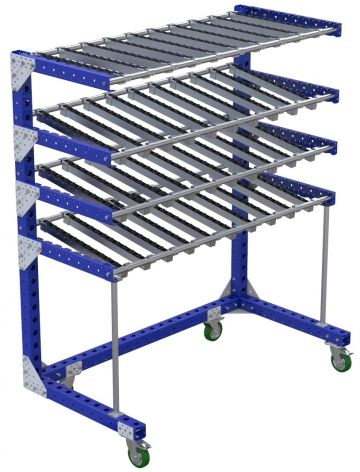 Flow Shelf Cart - 840 x 1610 mm