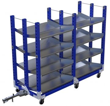 Flow Shelf Cart - 910 x 2310 mm
