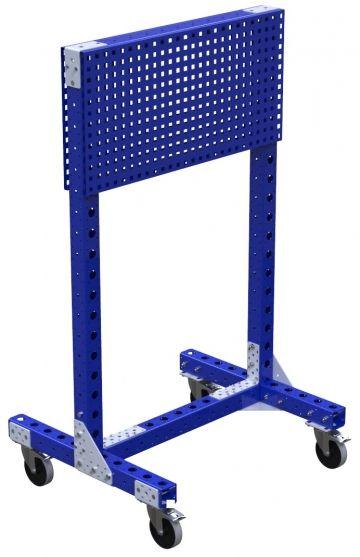 Peg Board Cart - 770 x 910 mm