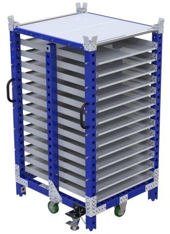 Flow Shelf Cart - 910 x 1050 mm