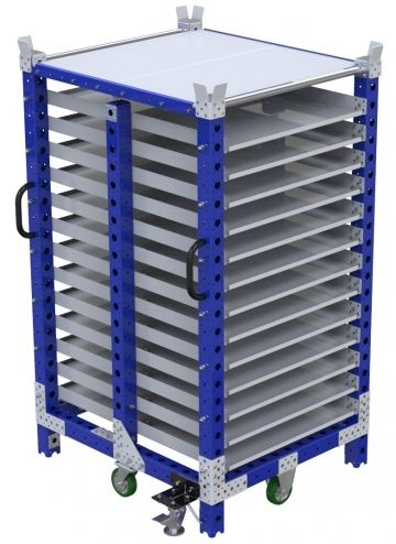 Flow Shelf Cart - 910 x 1050 mm