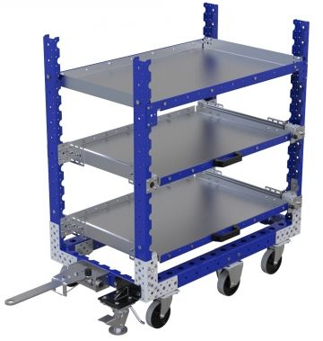 Flat Shelf Cart - 630 x 1050 mm