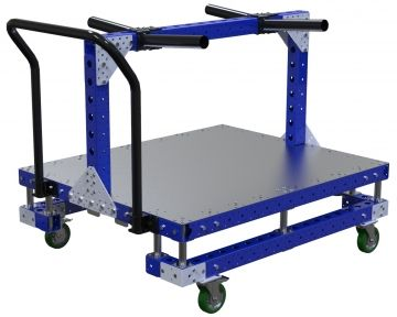 Modular & industrial material handling kit cart by FlexQube