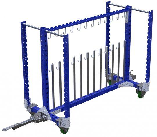 Refrigerant Lines Cart - 910 x 1820 mm