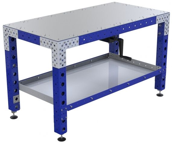 Adjustable Height Work Table - 630 x 1260 mm