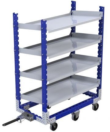 Flat Shelf Cart - 630 x 1190 mm