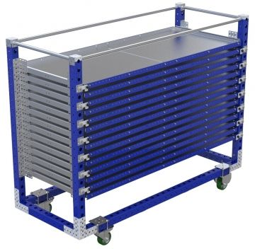 Extendable Shelf Cart - 840 x 2100 mm